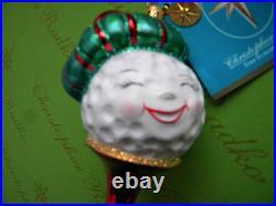 Christopher Radko My Tee Cute Tee Glass Ornament