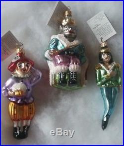 Christopher Radko Nutcracker Ballet Complete Collection Glass Ornaments