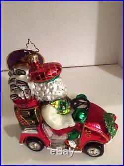 Christopher Radko ON PAR Retired Christmas Ornament New In Box