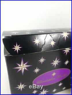 Christopher Radko OrnamentRareNutcracker Crunch Purple98-273-0Comes with Box