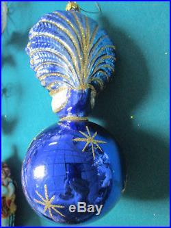 Christopher Radko Ornament Celeatial Peacock 1992, Retired