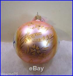 Christopher Radko Ornament Cinderella's Bluebirds #922400 Fairy Tale NIB (R15)
