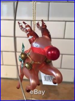 Christopher Radko Ornament DASH AWAY Flying Reindeer 98-240-0
