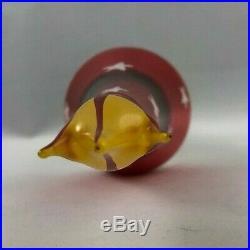 Christopher Radko Ornament Italian Mouth Blown Glass ROCKET SANTA. 1996