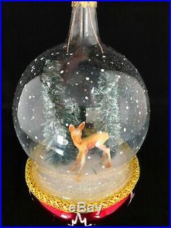 Christopher Radko Ornament Italian Mouth Blown Glass WINTER MORNING, 1996