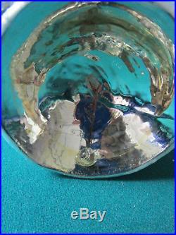 Christopher Radko Ornament Petit Snow Man Bell, Retired