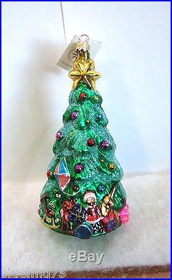 Christopher Radko Ornament Spruced Up Spruce #971520 Christmas Tree NIB (R52)