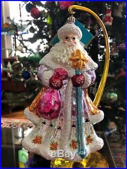 Christopher Radko Ornament St Petersburg Santa