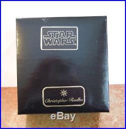 Christopher Radko Ornament Yoda Star Wars #98-STW-02 NIB/SEALED (R23)