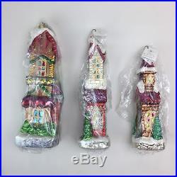 Christopher Radko Ornaments 1998 SUGAR HILL II Christmas Tree Holiday