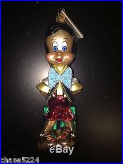 Christopher Radko PINOCCHIO WALT DISNEY GALLERY1996 Ornament RETIRED VINTAGE