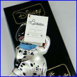 Christopher Radko PUPPY POLE 101 Dalmatians Disney 97-DIS-1 New in Box