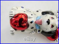 Christopher Radko PUPPY POLE 101 Dalmatians Disney Christmas Ornament MINT