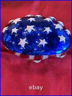 Christopher Radko Patriotic Ornament Republican Elephant It's A Party