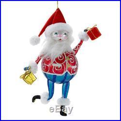 Christopher Radko Prancer Dancer Italian Santa Retired Ornament 1016285