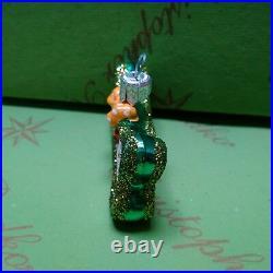 Christopher Radko Prototype Doggie Bone Glass Ornament