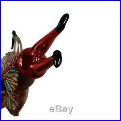 Christopher Radko RAIN DANCE Ornament 94-282-0 Indian Chief Italian Rare NWT