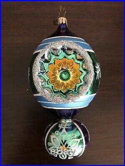 Christopher Radko Rare Fantasia Aurora Glorialis Reflector Ornaments Retired