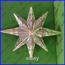 Christopher Radko Resplendence Hanging Glass Ornament