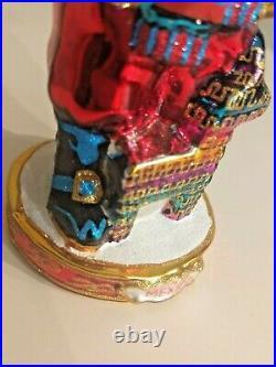Christopher Radko SANTA AROUND THE WORLD MEXICO Ornament 1017429 6