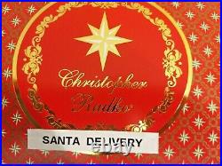 Christopher Radko SANTA DELIVERY Ornament WHITE HORSE / DELIVERY CARRIAGE SNOW