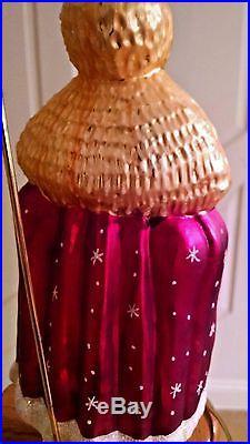 Christopher Radko SANTA'S CHRISTMAS ROBE 9 Ornate Robe Ornament VINTAGE rare