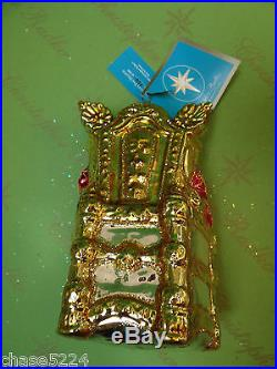 Christopher Radko SANTA THE EIGHTH Glass -RETIRED- WOW one great ornament