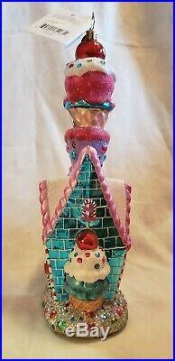 Christopher Radko SUGAR SHACK Ornament 11/2,005 NEW