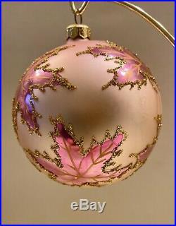 Christopher Radko Scarlett's Wedding Dress PINK Christmas Ornament 4.5