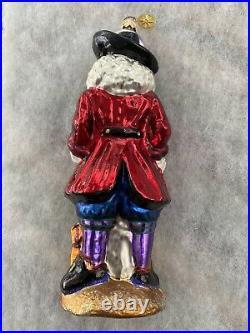 Christopher Radko Skull Duggery Pirate Skeleton Christmas Halloween Ornament