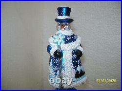 Christopher Radko Spectacular Snowman Finial/Topper 1019993
