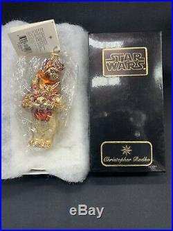 Christopher Radko Star Wars Ewoks Ewok Blown Glass Ornament 99-STW-06