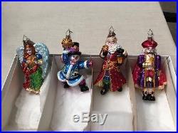 Christopher Radko THE LIGHT BRIGADE Glass Ornaments 1012222