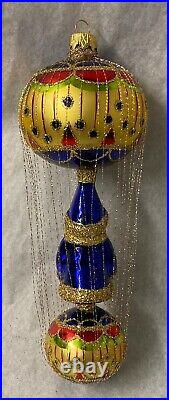 Christopher Radko The First Decade Wire-Wrapped Santa Mission Ball New