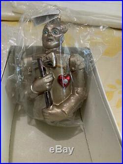 Christopher Radko The Wizard of Oz Tin Man Ornament