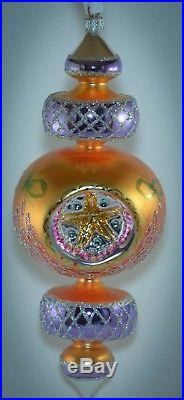 Christopher Radko Triple Reflector Christmas Ornament RAZZLE DAZZLE 94-372 10