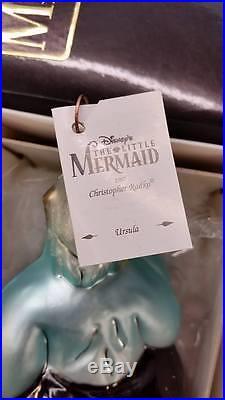 Christopher Radko URSULA Ornament NEW IN BOX RARE Little Mermaid DISNEY 1997