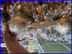 Christopher Radko VICTORIAN BALLOON ANGEL Christmas Ornament 92-122-0A HUGE