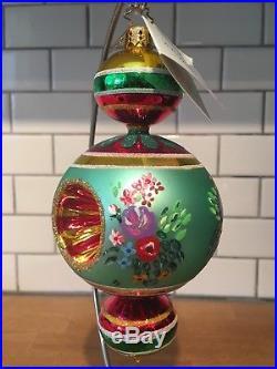 Christopher Radko Victorian Glory 02-0491-0 Razzle Dazzle Type Ornament Beauty