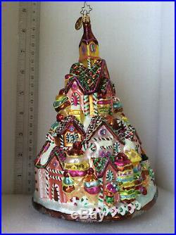 Christopher Radko Vintage Gingerbread Lane large ornament