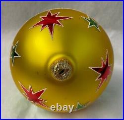 Christopher Radko Vintage Prototype Star Cascade #02-0148-1. 2002 RARE