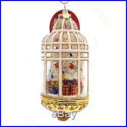 Christopher Radko WINTER ARBORETUM Glass Ornament Christmas Tree 1018557
