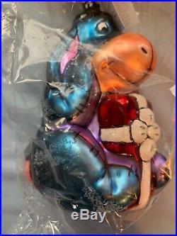 Christopher Radko Walt Disney EEYORE (1997) Glass Christmas Ornament