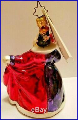 Christopher Radko Walt Disney QUEEN OF HEARTS Ornament ALICE IN WONDERLAND