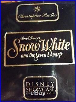 Christopher Radko/Walt Disney SNOW WHITE & THE SEVEN DWARFS MIRROR Ornament