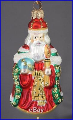Christopher Radko Westminster Santa Ornament 1995 95-189-0 Red 4