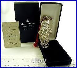 Christopher Radko Winter Spirit Limited Edition Sterling Ornament /Brooch NIB