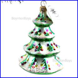 Christopher Radko Winter Tree Christmas Ornament NWT 92-101-2 See Store 4 More