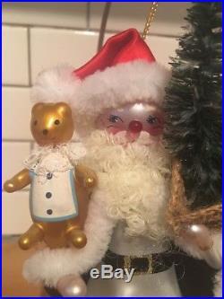 Christopher Radko With Toys & Bears Santa Claus Ornament 98-063-0 1998 Rare HTF