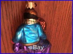 Christopher Radko'bob Cratchit & Tiny Tim' Ornament / #329/10k / Ltd Ed / Vguc